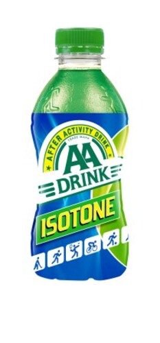 AA drink ISOTONE groen  33cl