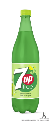 7up SEVEN UP FREE PET 125cl