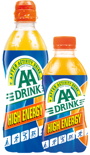 AA drink ENERGY ORANGE 50cl