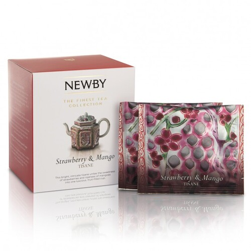 THEE NEWBY STRAWBERRY & MANGO 15 pyramids